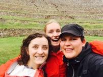 Sara, Olivia and I