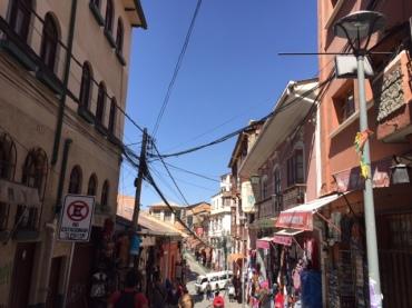 Streets in La Paz